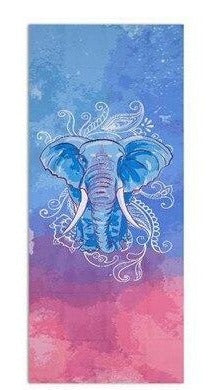 serviette yoga elephant