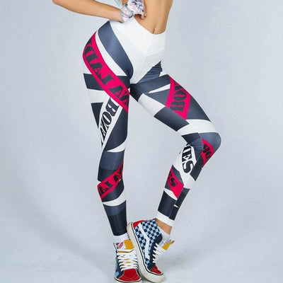 Legging Sport imprimé collant <br/> E-Legging