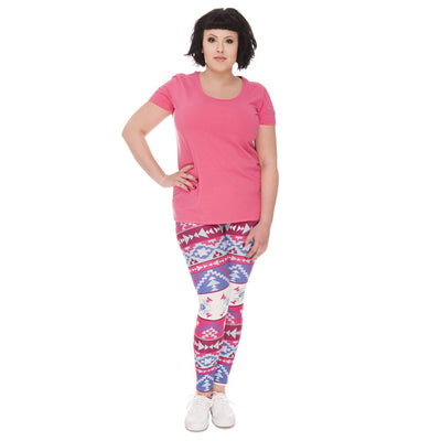 legging stretch de face
