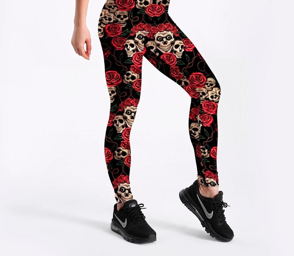 Legging sport pirates skulls <br/> E-Legging