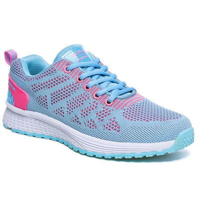chaussure running femme turquoise