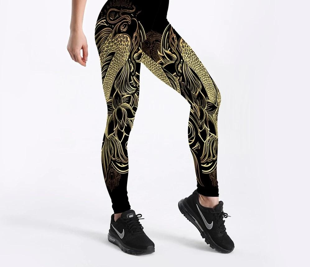 legging carpe koi