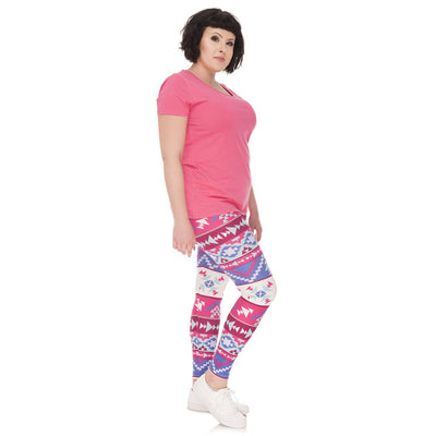 legging stretch trois quart