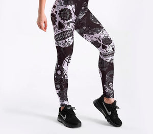 legging skull and bones