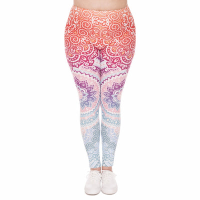 legging aztec de face