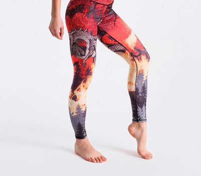 legging dragon