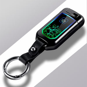 USB Thunder fingerprint Lighter Electronic Lighter