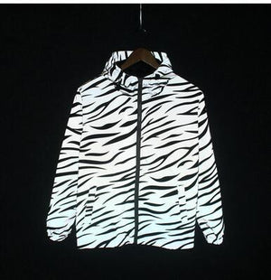 Reflective Light Jacket Men Mesh Style