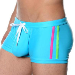 Man Swimming Trunks Boxer Shorts