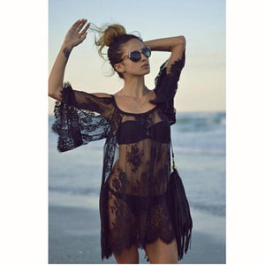 Beach Cover Up Pareo Playa Coverup Dress