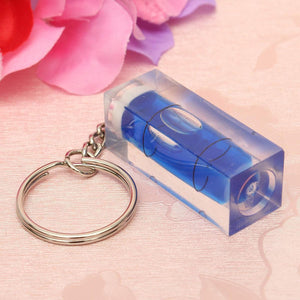 Mini Spirit Level DIY Gadgets Keyring