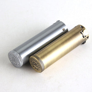 Retro Mini Metal Lighters Kerosene Oil Flame Lighter