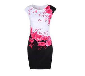 Summer Plus Size Women Dress
