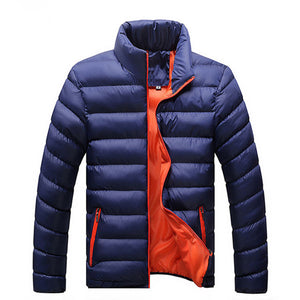 Winter Warm Outwear Brand Slim Mens Coats