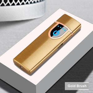 Fingerprint Induction USB Electronic Lighter