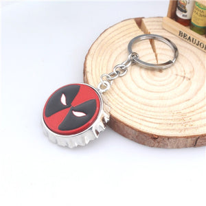 Deadpool Mask Bottle Opener Keychain