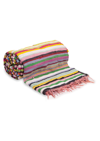 Assorted Multi Colour Throw