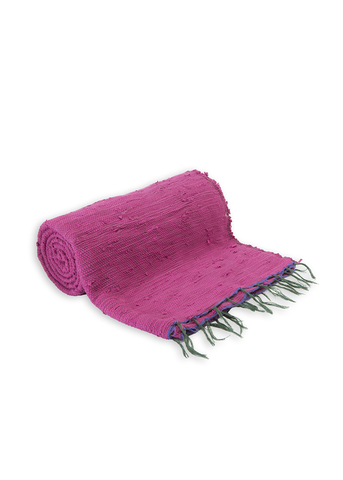 Pink Plain Throw