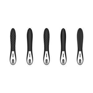 THE ENCHANTRESS Minimalist Design Single Vibrator Wand Messager with 5 Surface Options - Soloplays.com,adult toy,sex toy,orgasm toy,vibrator,massager,penis pump,vagina,realistic dildo,realistic pussy