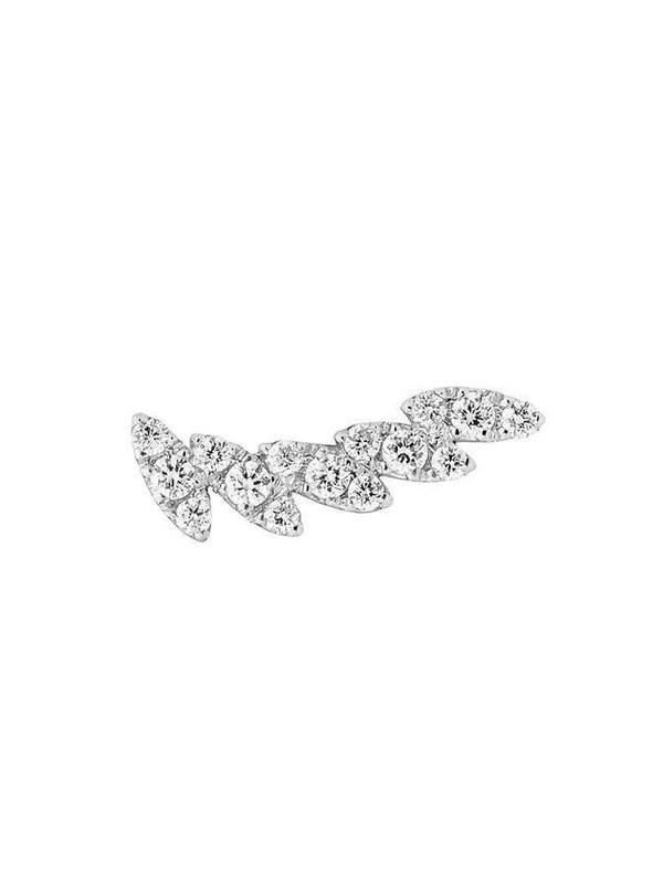 MARQUISE SHAPED DIAMOND EAR CUFF