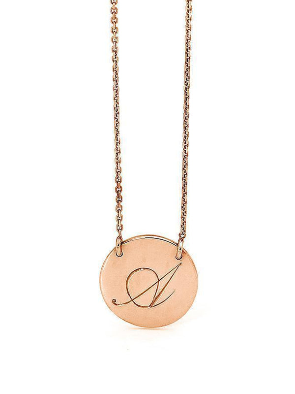 INNOCENCE NECKLACE IN ROSE GOLD