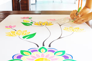8 Reasons You Should Draw on Your Yoga Mat