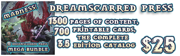 Dreamscarred Press MEGA Bundle!