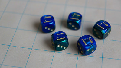 Acid d6s Dice Set