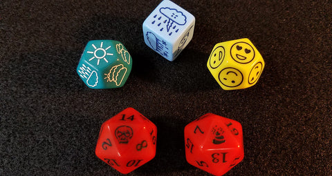 Game Master's Random Generator Dice Set