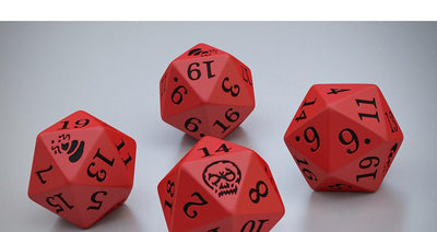 5 Crit d20s Dice Set