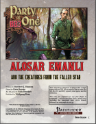 BB3 Party of One Alosar Emanli and the Creatures from the Fallen Star