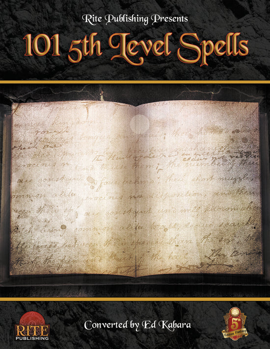 Spells A-Z – 5th Edition SRD