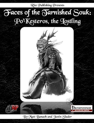 Faces of the Tarnished Souk: Po'Kesteros, the Lostling