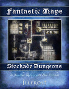 Fantastic Maps - Illfrost: Stockade Dungeons