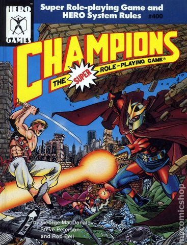 Champions the Super Role Playing Game (4th Edition)