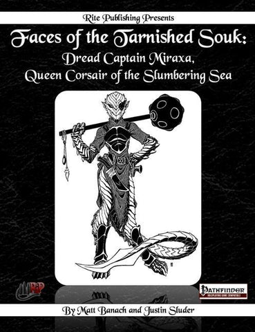 Faces of the Tarnished Souk: Dread Captain Miraxa, Queen Corsair of the Slumbering Sea
