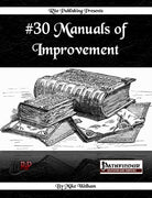 #30 Manuals of Improvement