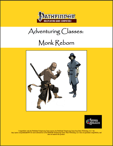 Adventuring Classes: Monk Reborn