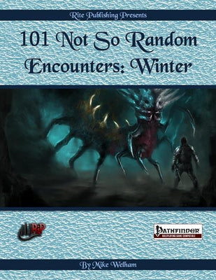 101 Not So Random Encounters: Winter