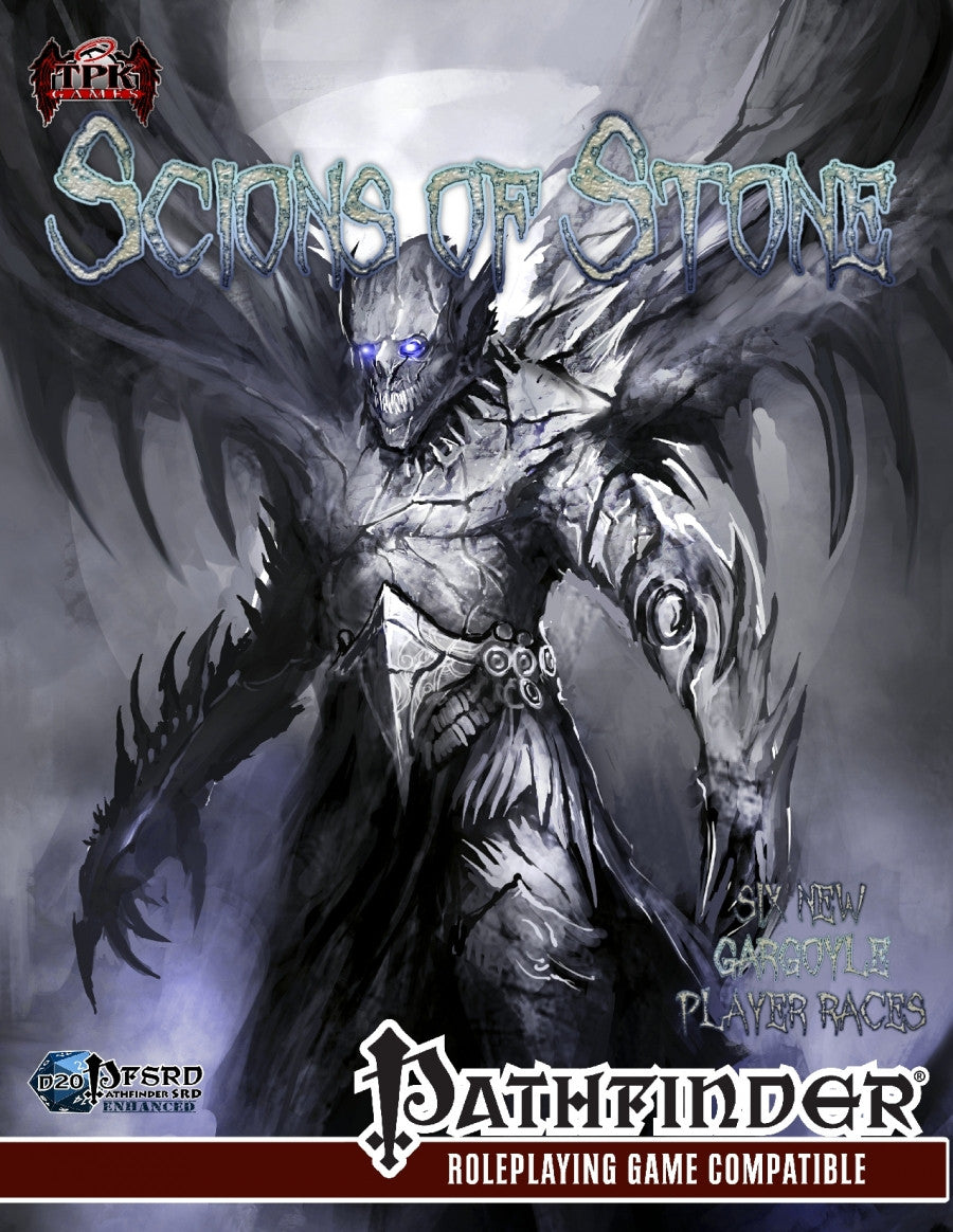 Scions of Stone: Six Original Gargoyle PC Races