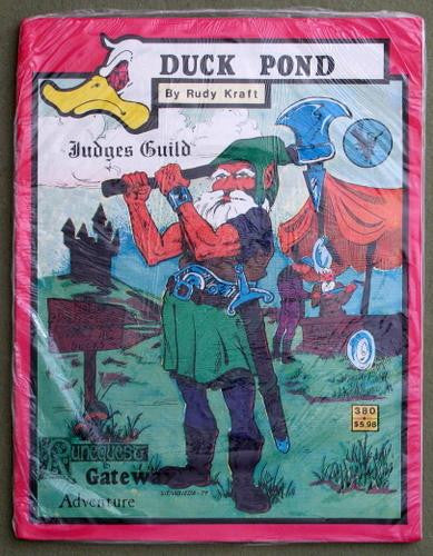 Duck Pond (Runequest) by Rudy Kraft Published by Judges Guild, 1980