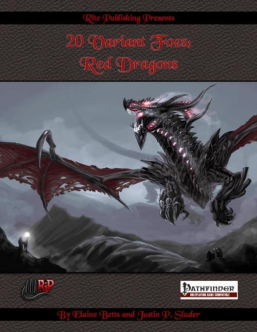 20 Variant Foes: Red Dragons