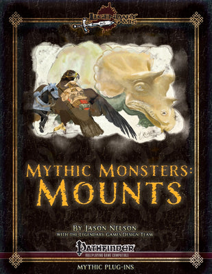 Mythic Monsters: Mounts