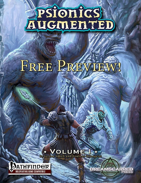 Psionics Augmented Free Preview
