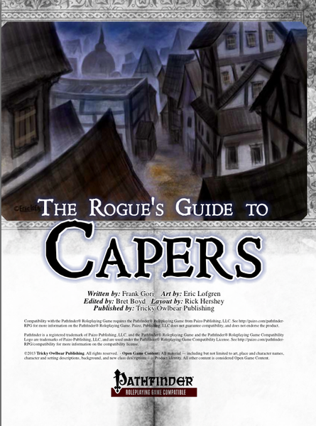 The Rogue's Guide to Capers