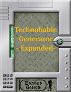 Technobable Generator - Expanded