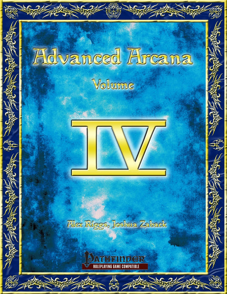 Advanced Arcana Volume IV