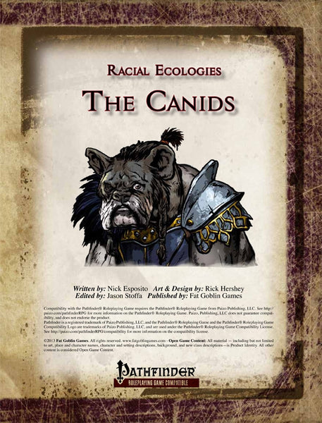 Racial Ecologies: The Canids
