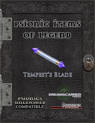 Psionic Items of Legend: Tempest's Blade