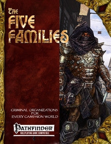 The Five Families: Criminal Organizations for Any Campaign World